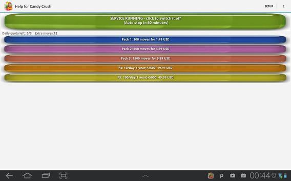 Help for Candy Crush apk screenshot