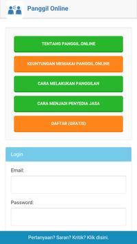 Panggil Online poster