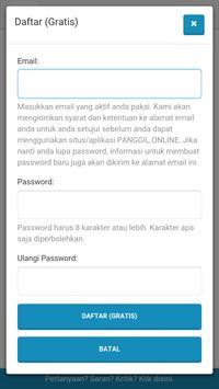 Panggil Online screenshot 1