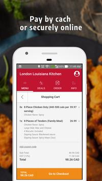 London Popeyes Louisiana Kitchen screenshot 4