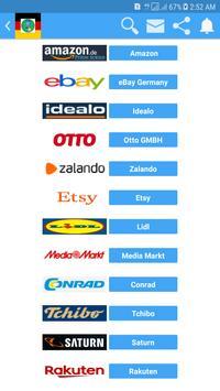 Online Shopping In Germany screenshot 1