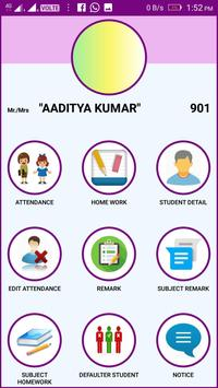 Online Attendance Application poster