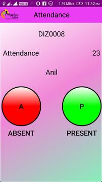 Online Attendance Application apk screenshot