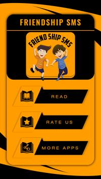 +999 Friendship SMS poster