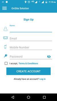 OnSite Solution screenshot 1