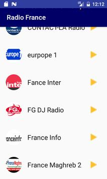 Radio France screenshot 1