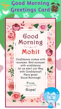Good morning greeting cards maker for android apk download good morning greeting cards maker 5 m4hsunfo