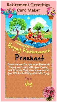 retirement greeting cards maker apk download free art design app