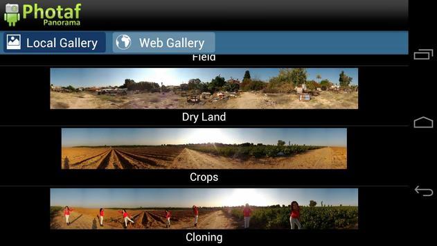Photaf Panorama (Free) apk screenshot
