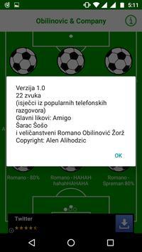Obilinovic & Co Soundboard screenshot 1