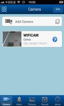 HVCAM client screenshot 3