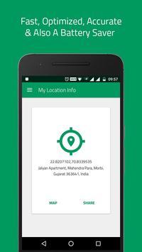 My Location Info screenshot 1