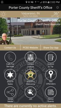 Porter County Sheriff IN poster