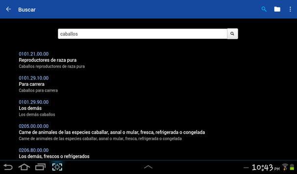 Arancel CO apk screenshot