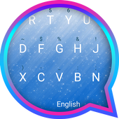 Ocean Blue Theme&Emoji Keyboard icon