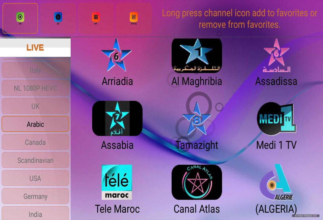 Magnum IPTV for Android - APK Download