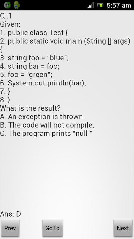Scjp dumps   class (computer programming)   c (programming language).