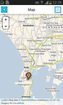 Bali Offline Map Guide Hotels screenshot 1