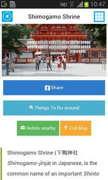Kyoto Offline Map Guide Flight screenshot 3