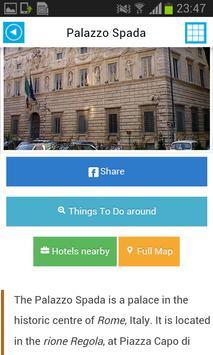 Rome Offline Map Guide Hotels screenshot 12