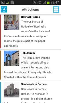 Rome Offline Map Guide Hotels screenshot 2