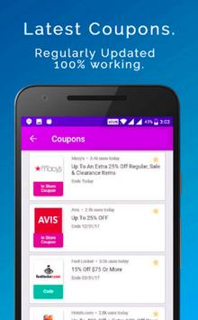 Coupons | Deals | Cashback | Offers apk screenshot