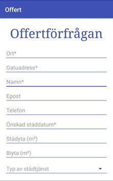 Flyttstädoffert.se screenshot 1