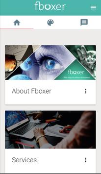 Fboxer - Web Design and Web Development Company apk screenshot