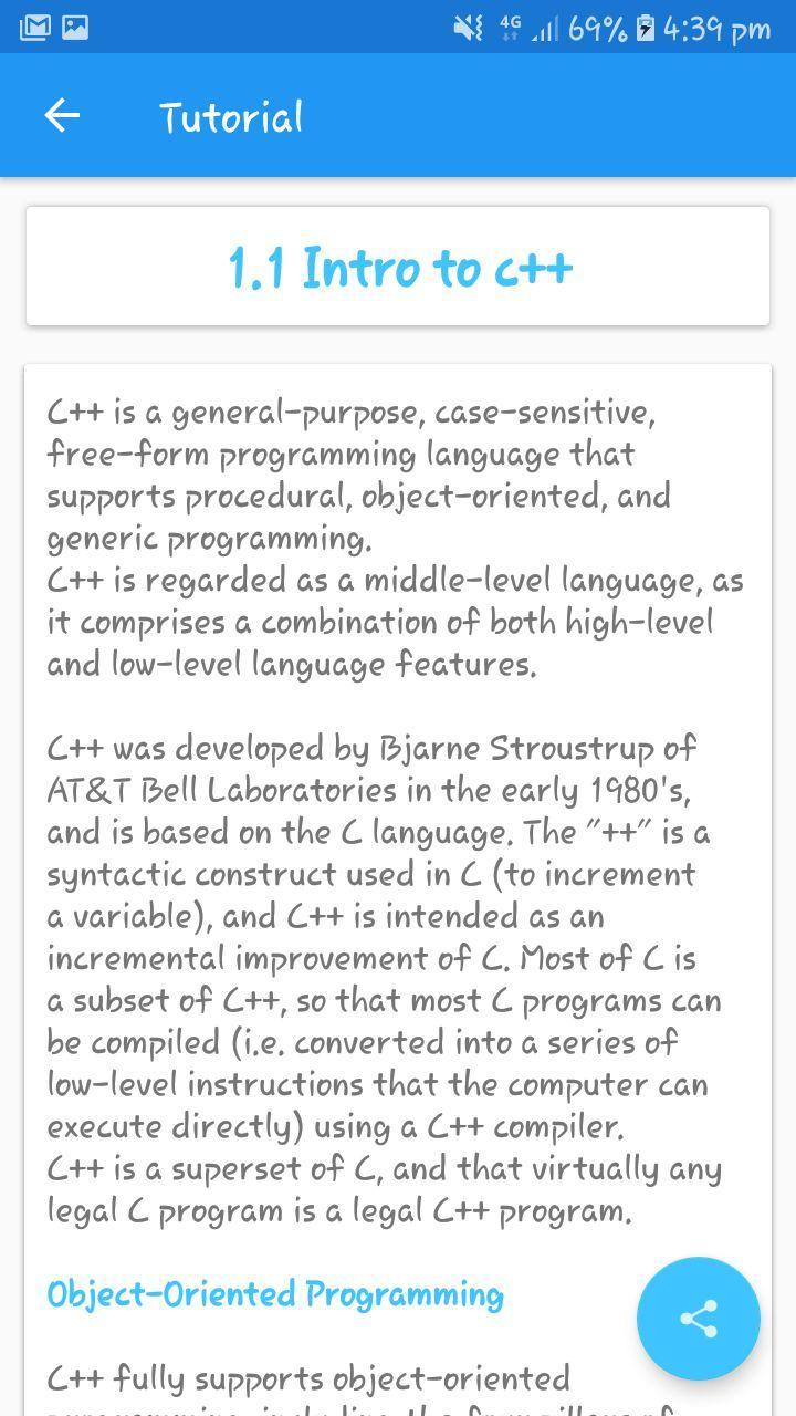 GTU: C++ Programming and Tutorials for Android - APK Download