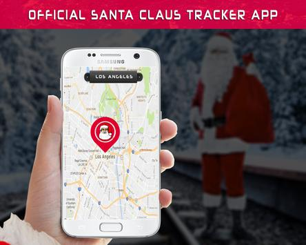 Official Santa Claus Tracker poster