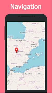 Map Of Spain For Android.Offline Maps Navigation By Gps Spain For Android