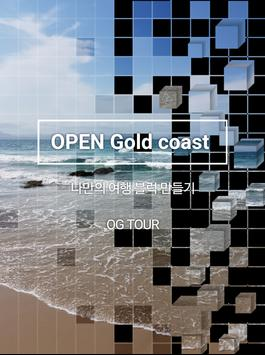 OPEN GOLD COAST poster