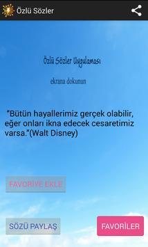 Özlü Sözler poster