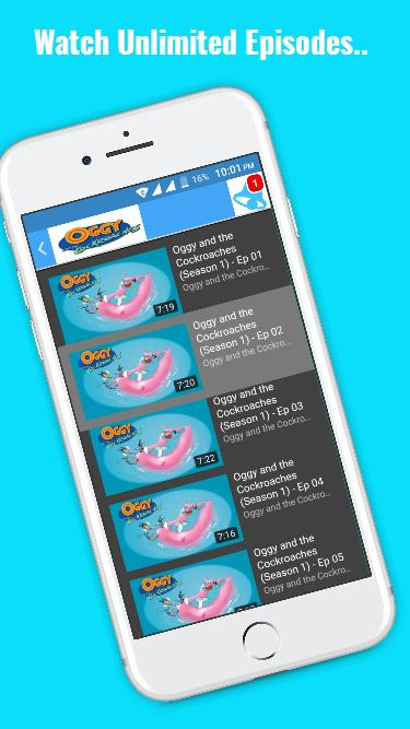 Oggy And The Cockroaches Cartoon For Android Apk Download