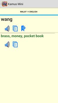 Kamus Mini English Malay screenshot 7