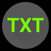 Textual Launcher icon