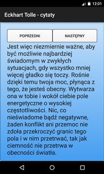 Eckhart Tolle - cytaty apk screenshot