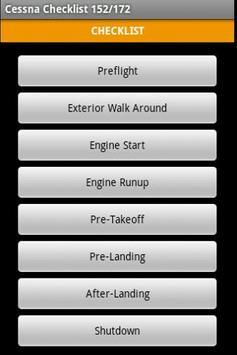 Cessna 172 Checklist apk screenshot