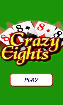 Crazy Eights (8s) FREE poster