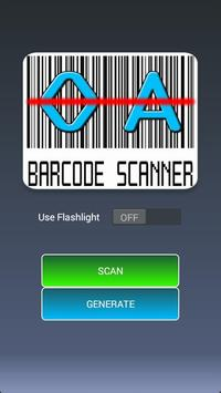 OA Barcode Scanner poster