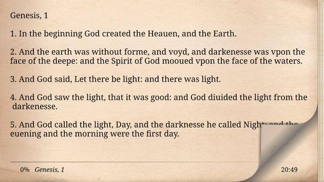1611 King James Bible Version screenshot 7