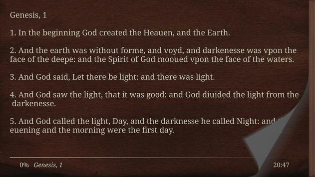 1611 King James Bible Version screenshot 9