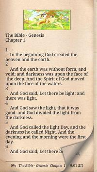 Old Testament of the Holy Bible poster