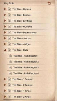 Old Testament of the Holy Bible apk screenshot
