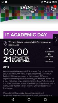 Event Lista screenshot 1