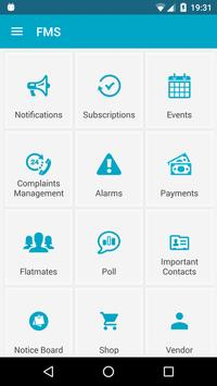 Flat Management System apk screenshot