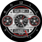 Opulence Six Barrel Watch Face icon