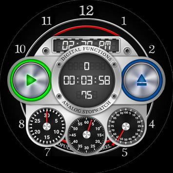 Opulence Six Barrel Watch Face screenshot 2