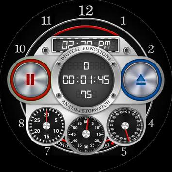 Opulence Six Barrel Watch Face screenshot 3