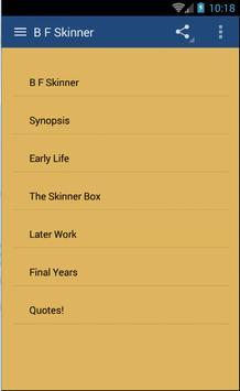 B.F. Skinner screenshot 1